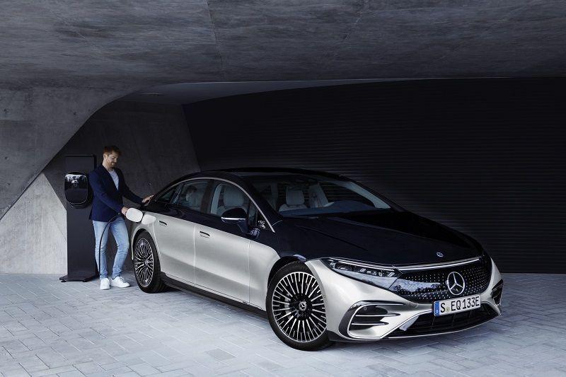 auto elettrica Mercedes