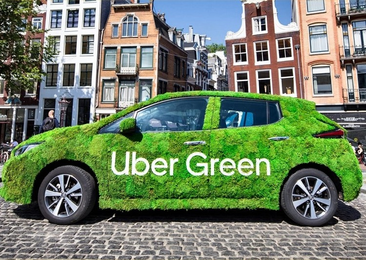 Trying out an electric car helps you appreciate its qualities, Uber will also help